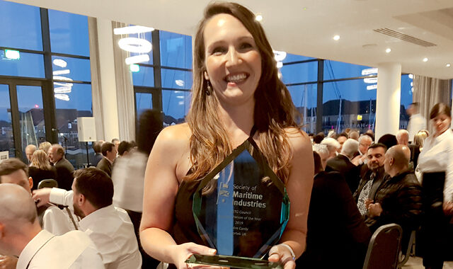 Nortek's talented and hard-working UK Director, Claire Cardy, won the SMI Marine Science & Technology Business Person of the Year 2019 Award.