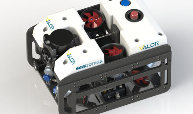 VALOR is a light and powerful observation ROV using Nortek's DVL for accurate subsea navigation.